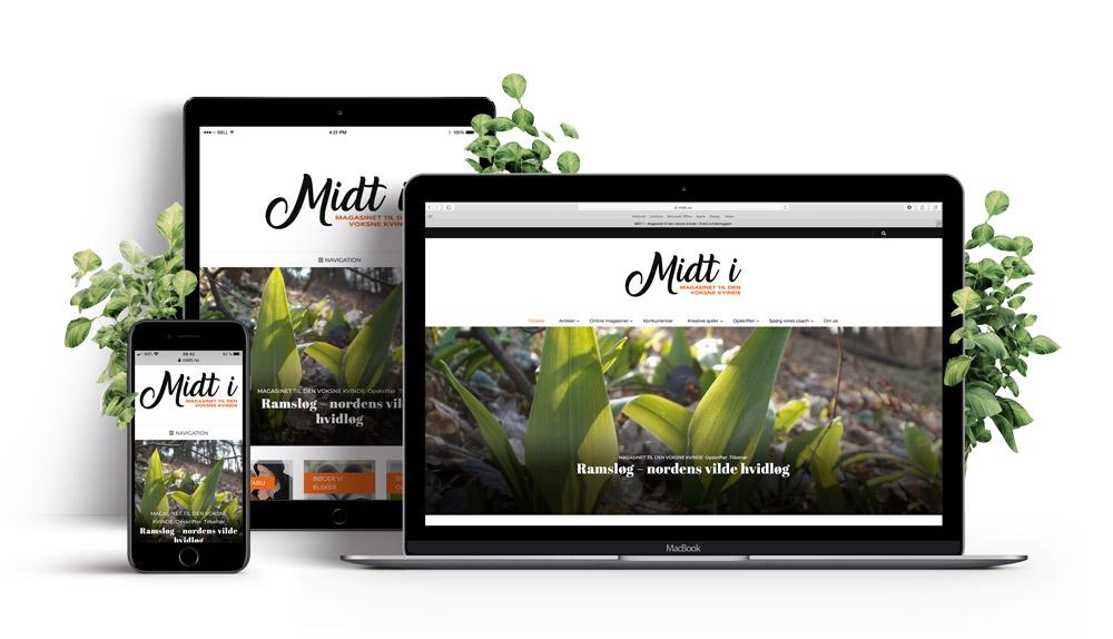 Midti_hjemmeside